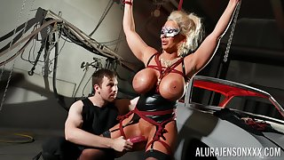 Busty cougar loves zoological dominated in BDSM hardcore