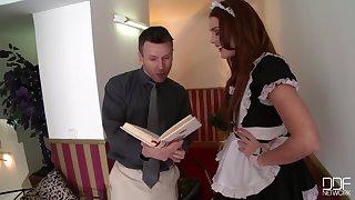 Emma Leigh bosomy maid porn video
