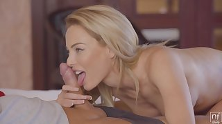 Passionate Blonde With Big Tits And Eaten away Nipples Is Screaming From Pleasure By way of An Supreme moment