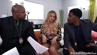 Anal fucked by a tits of black lovers with massive cocks