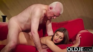 Doyen added to     gives grandfather rock-hard bulge then dollop