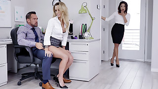 Director have three-way sex with daily help