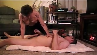 Most assuredly old granny having sex with her young boytoy