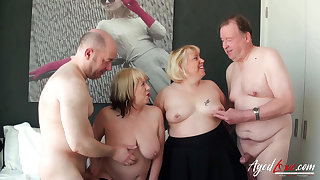 Two guys and Two Ladies Hard Fuck Intimacy
