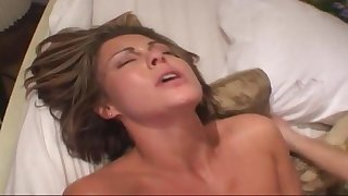 Horny mature cheats on soft-pedal with young boys
